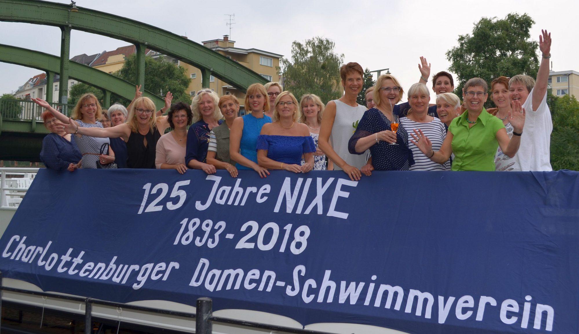 Charlottenburger Damen-Schwimmverein Nixe e.V. seit 1893
